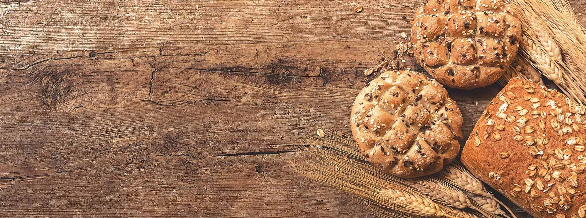 Más de</br>20 tipos</br>de pan